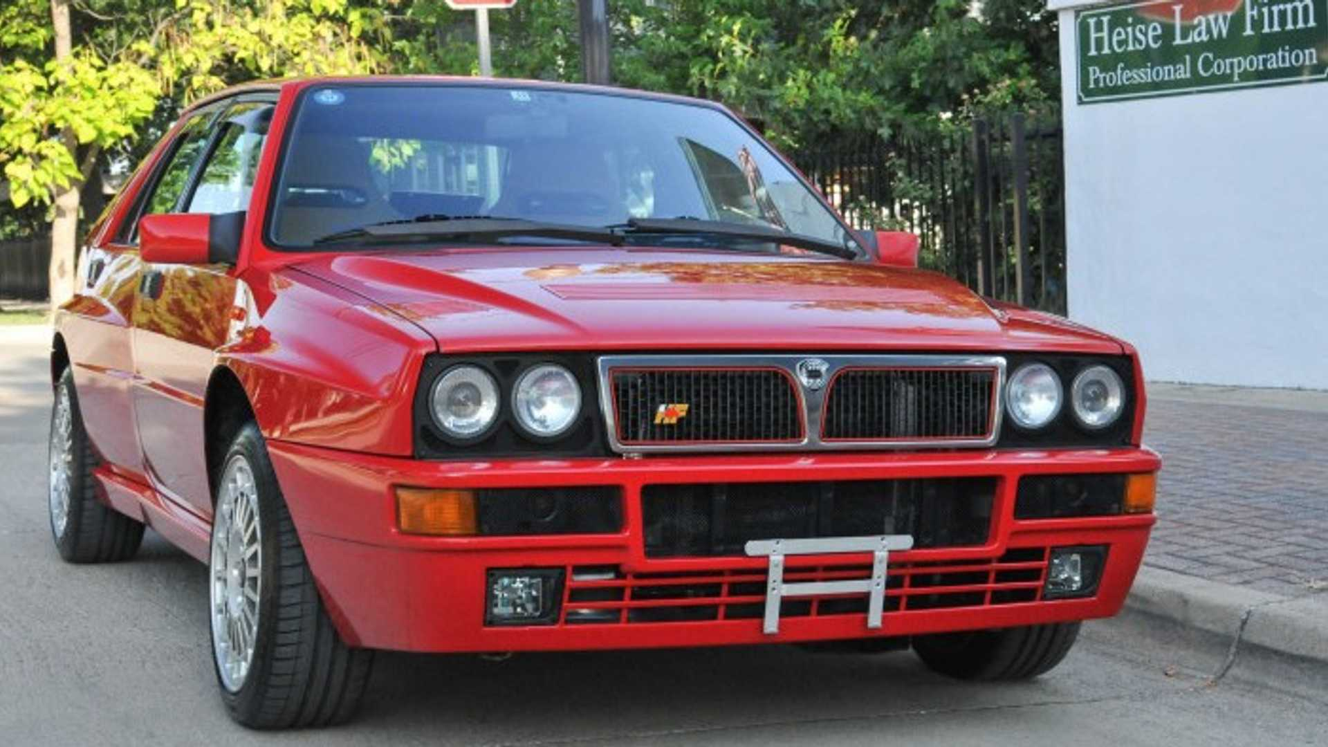 "[""Mopar Recreates Bumpers For Lancia Delta Integrale Evo""]"