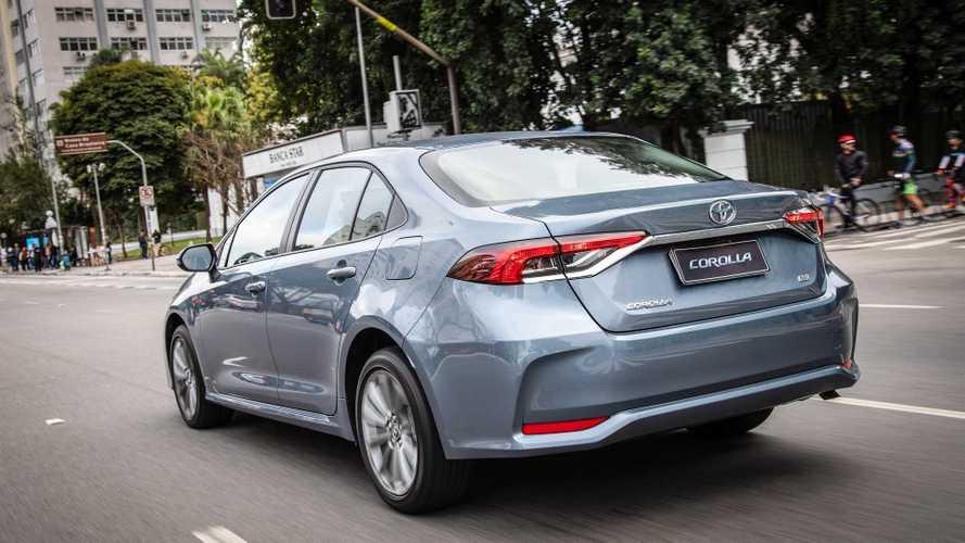 Ranking de vendas no varejo: novo Toyota Corolla já vende mais que Kwid