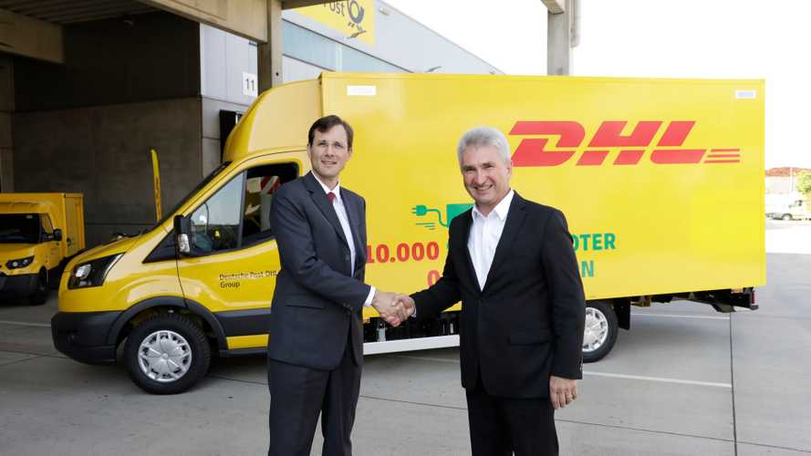 10,000th StreetScooter Enters Service In Deutsche Post DHL Fleet