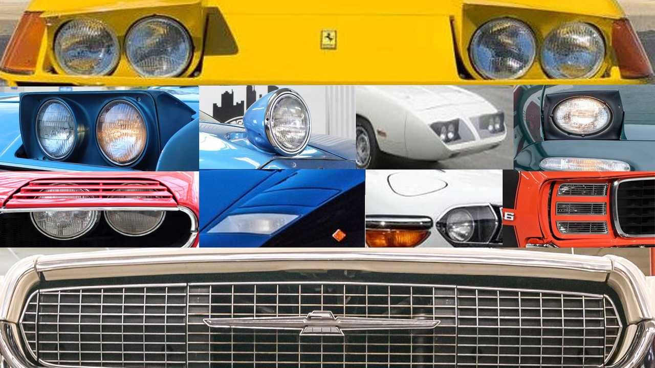 10 Coolest Classic Cars With Hidden Headlights
