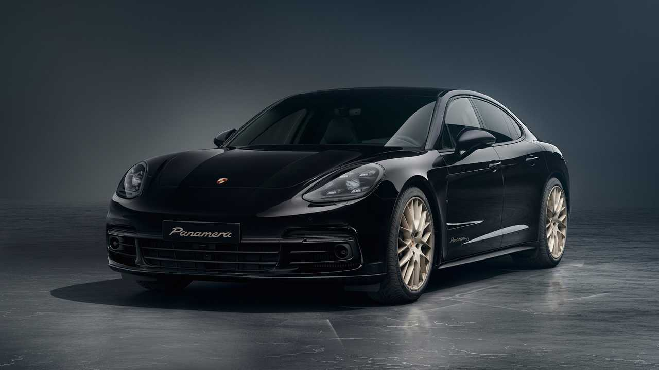 Porsche Panamera Becomes Big Boy With Gold Trimmed 10 Year Edition