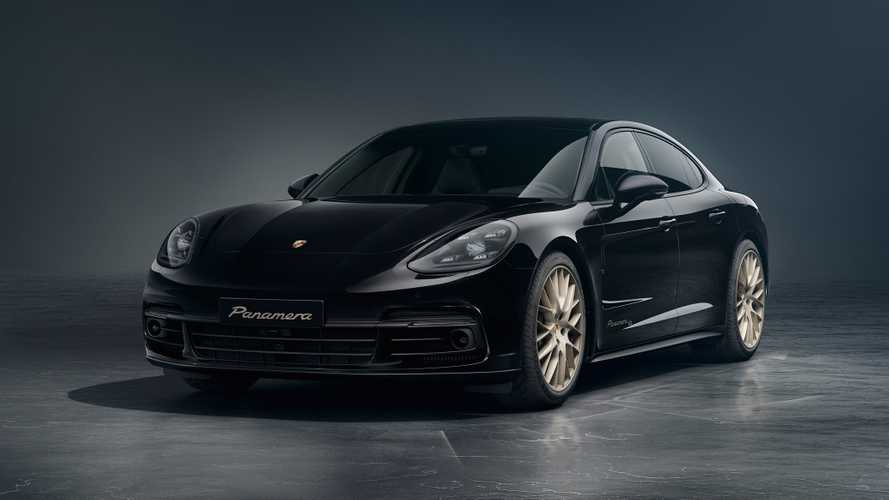 Porsche Panamera Becomes Big Boy With Gold-Trimmed 10 Year Edition