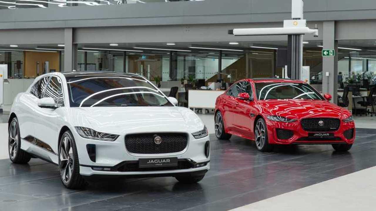 Jaguar's new design studio in Gaydon UK
