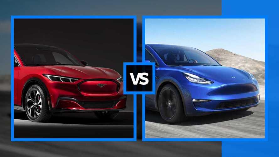 Ford Mustang Mach-E vs Tesla Model Y, la sfida è iniziata
