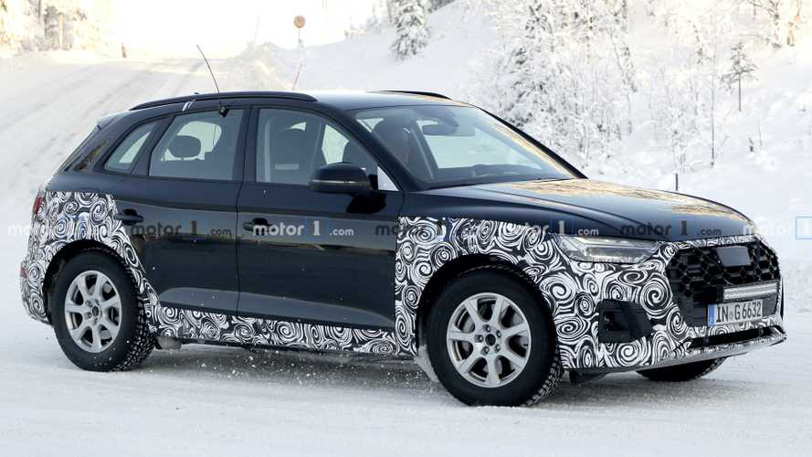 2021 Audi Q5 Caught Playing In The Snow