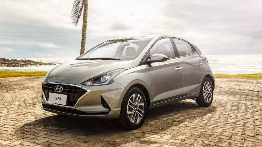Novo Hyundai HB20 hatch 2020