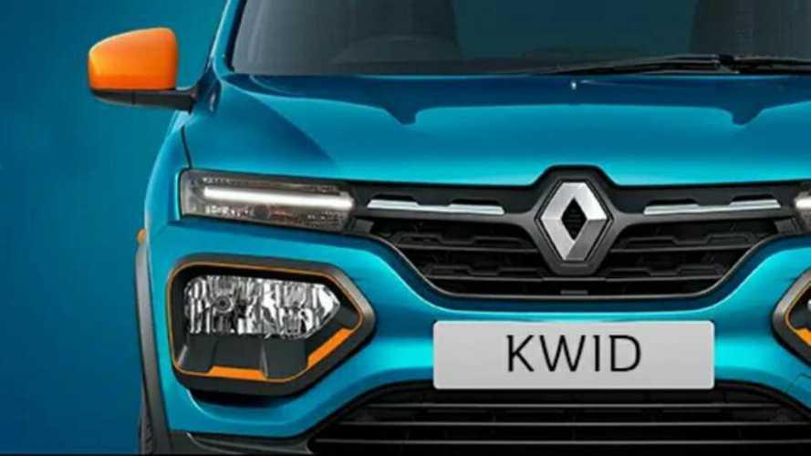 Renault Kwid: teaser confirma design do modelo reestilizado