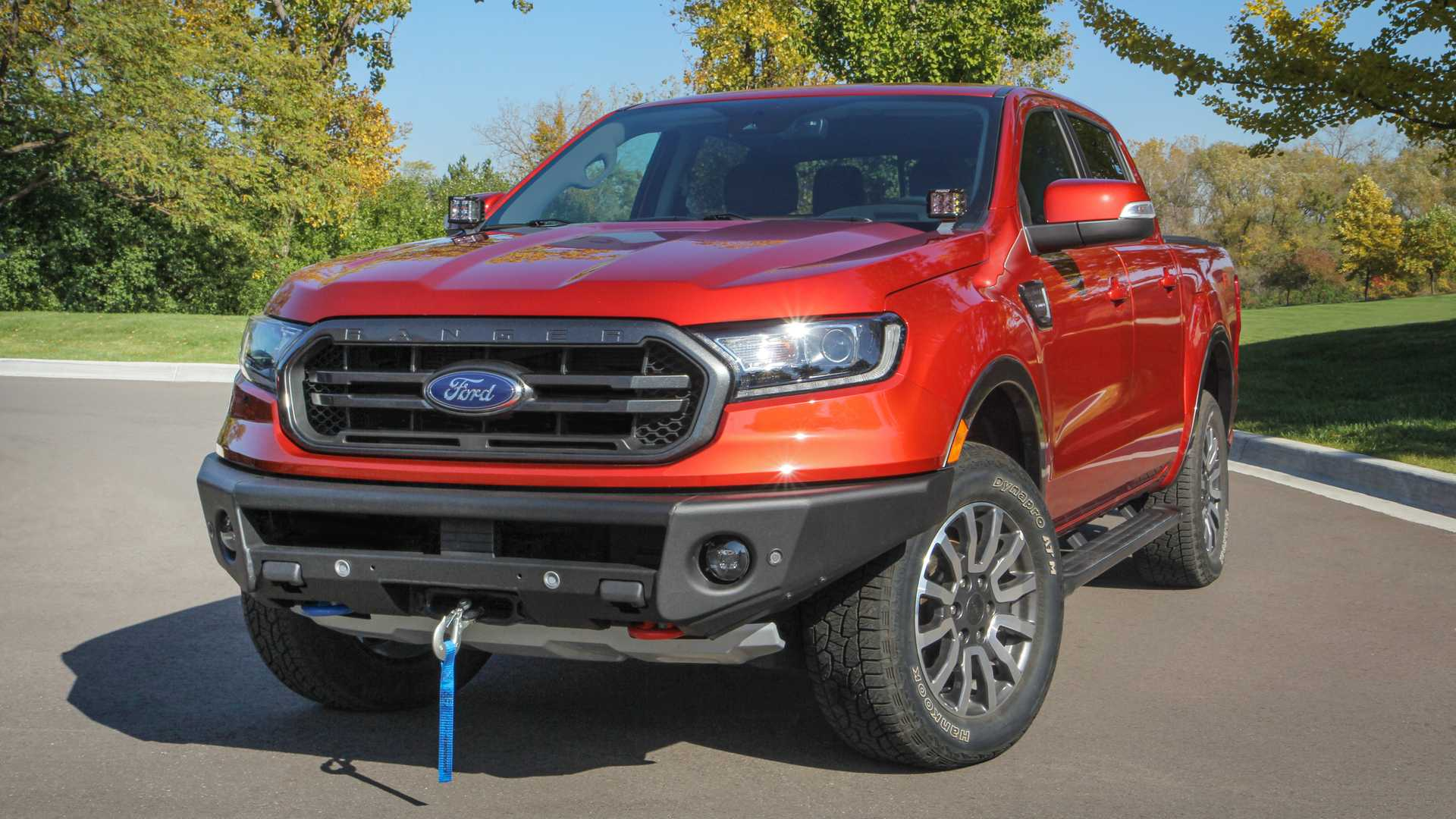Ford Will Soon Sell You A Winch Ready Front Bumper For Your Ranger