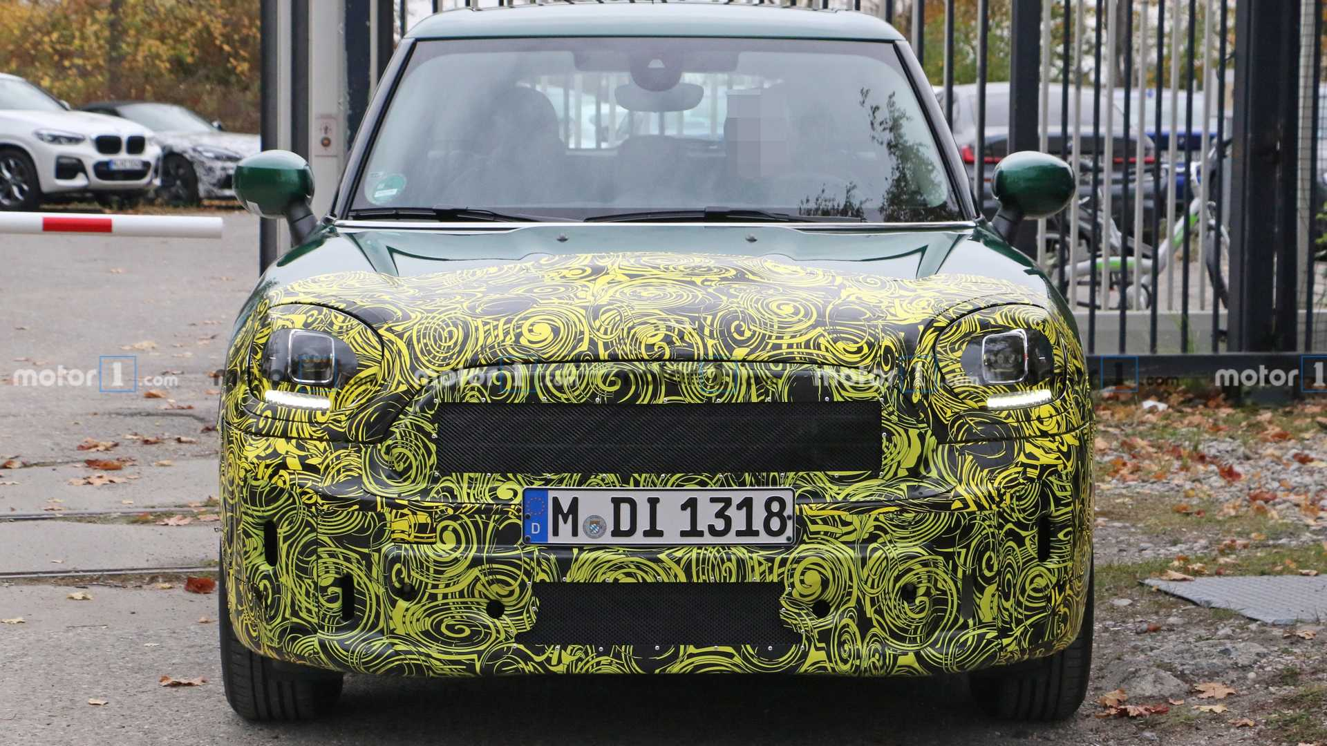 2020 Spy Shots Mini Countryman Redesign and Concept