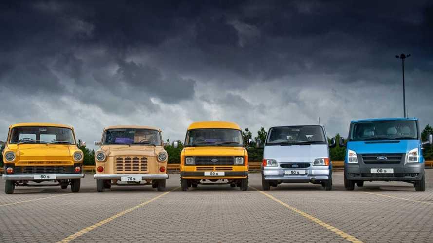 Ford Transit, la storia del furgone americano più amato in Europa
