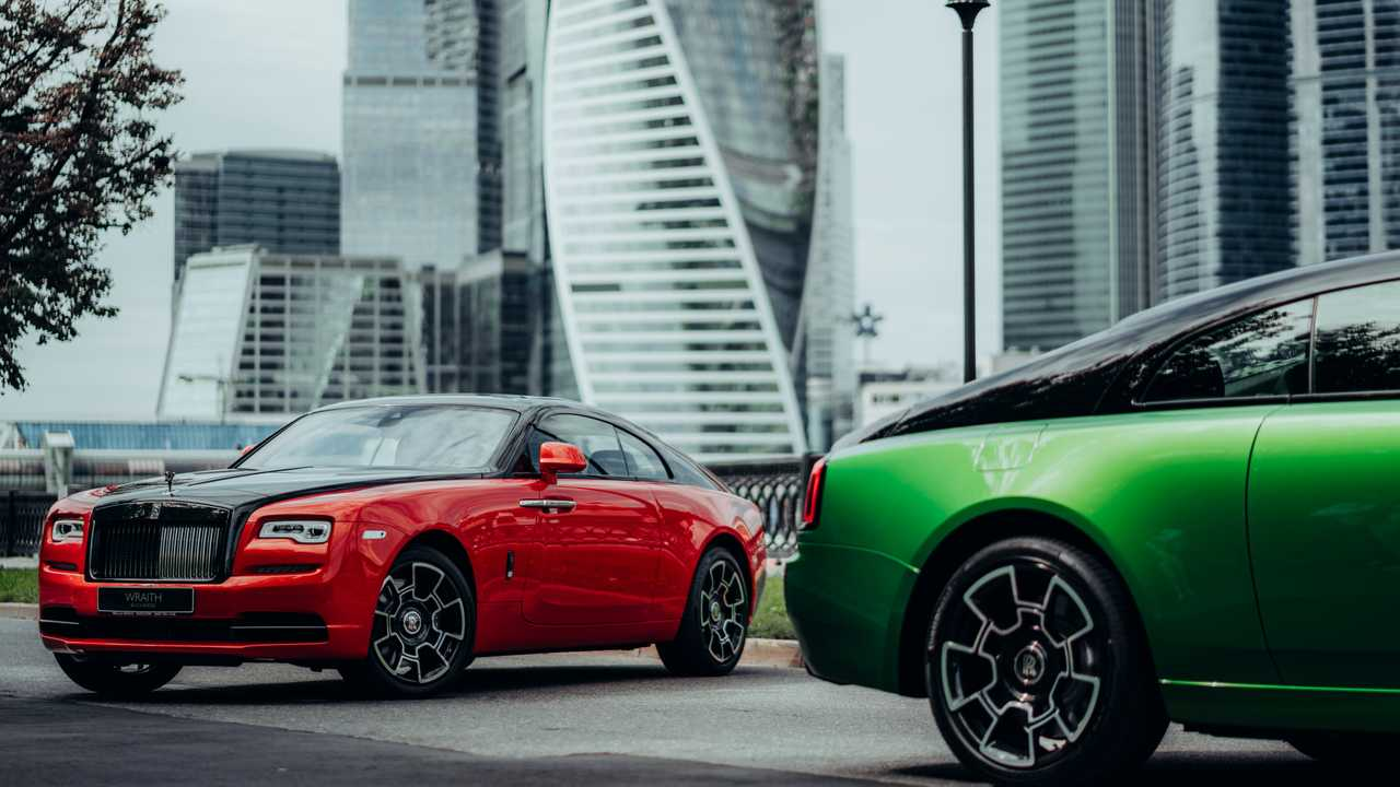 Rolls-Royce Black and Bright collection