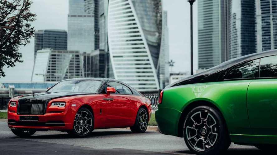Rolls-Royce представил эксклюзивные машины для России