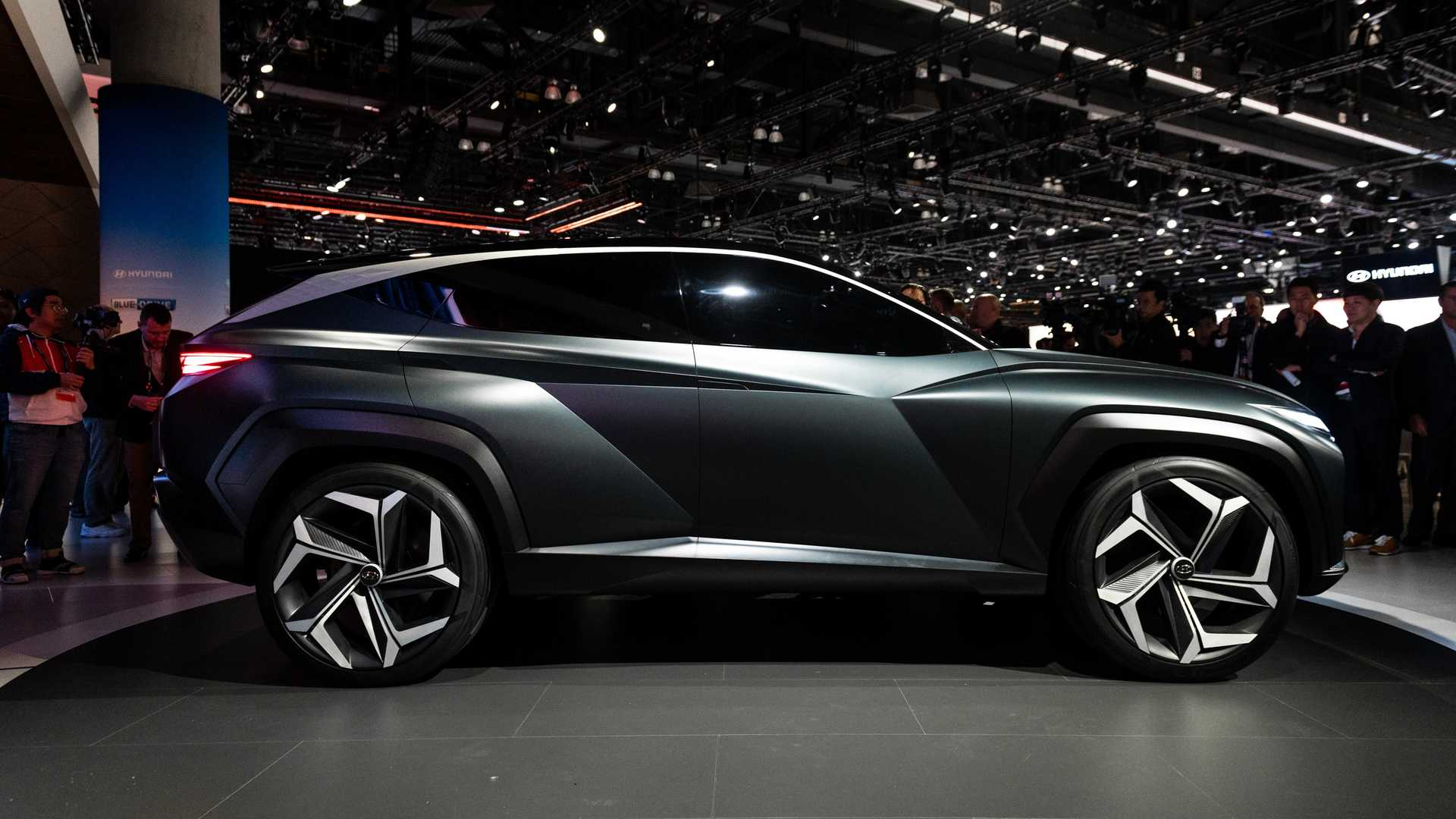 Hyundai Vision T Concept Live Image