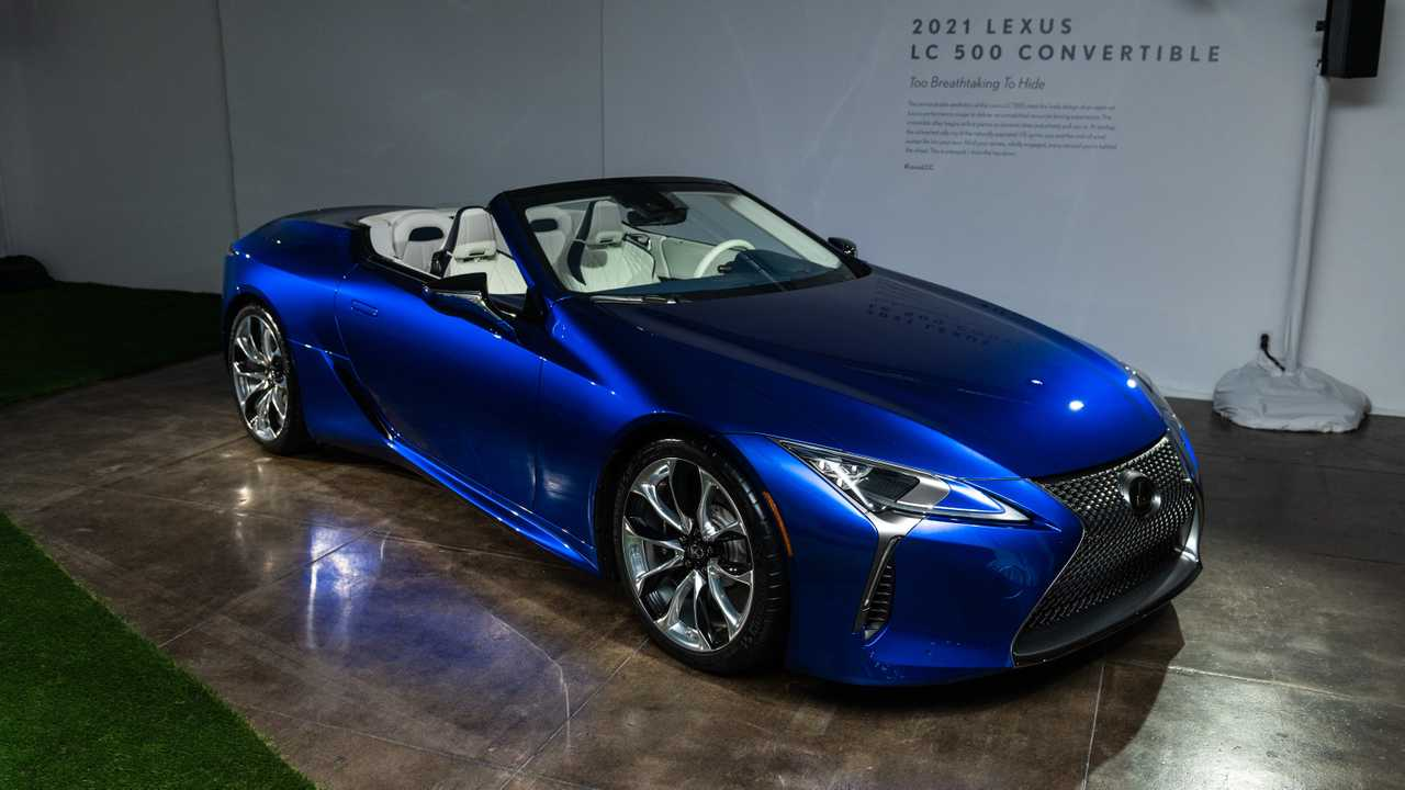 Images en direct du Lexus LC 500 Convertible
