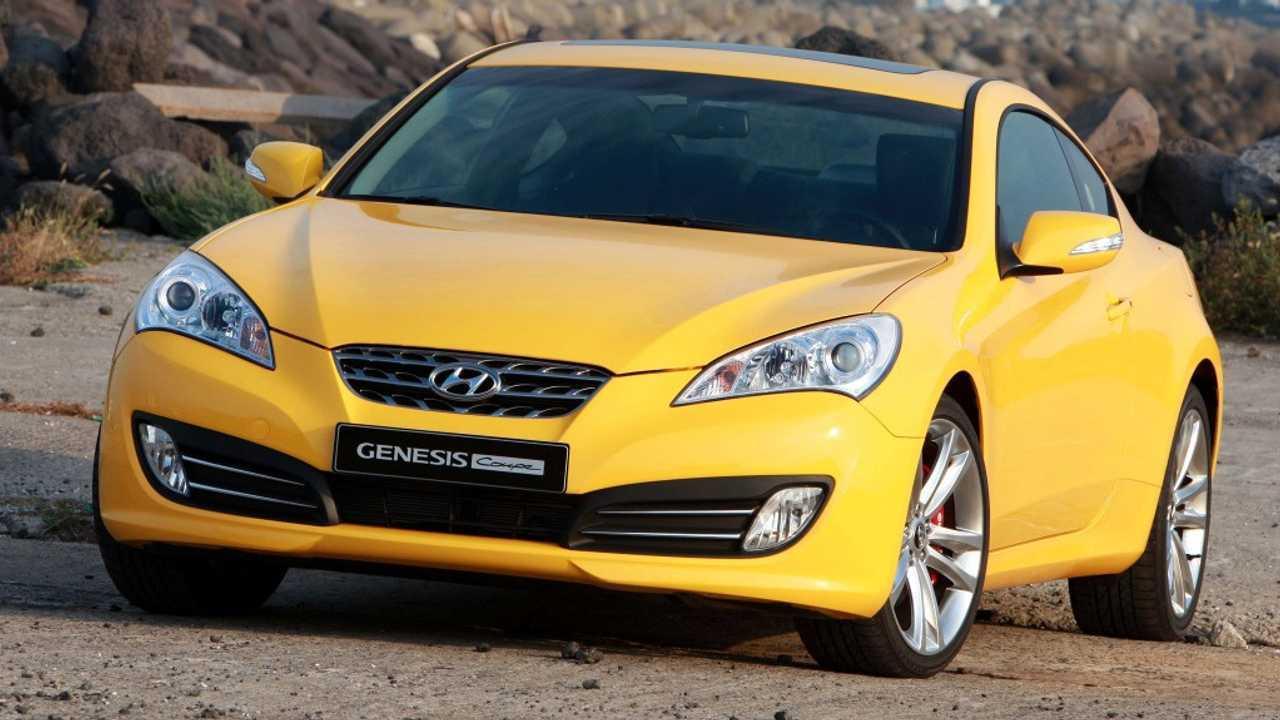 2. Hyundai Genesis Coupe