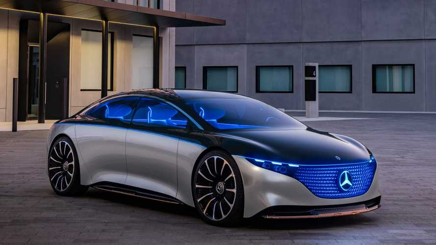 Mercedes Vision EQS – luxus négy keréken, elektromos hajtással