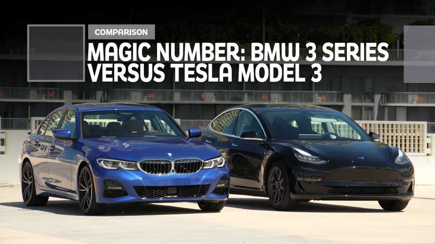BMW 3 Series Vs. Tesla Model 3 Comparison: It's A Magic Number
