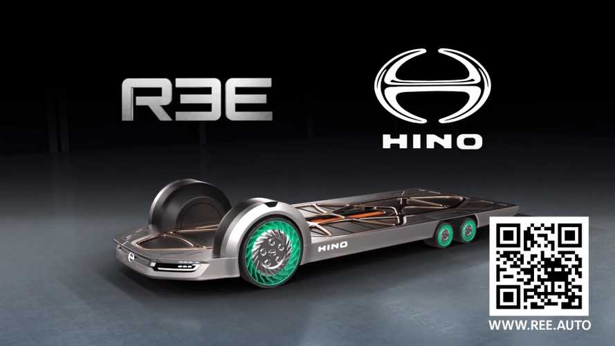 REE And Hino Present Innovative In-Wheel Motor Technology
