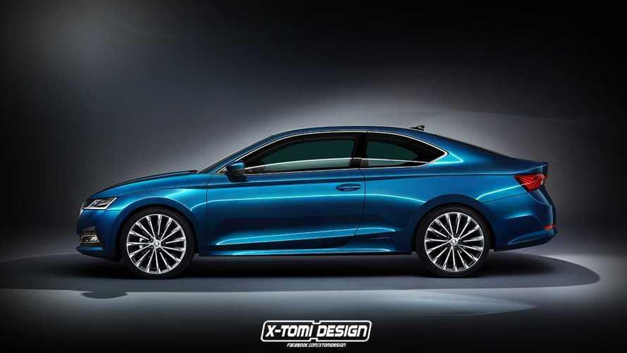 Így nézne ki a Skoda Octavia coupe változata