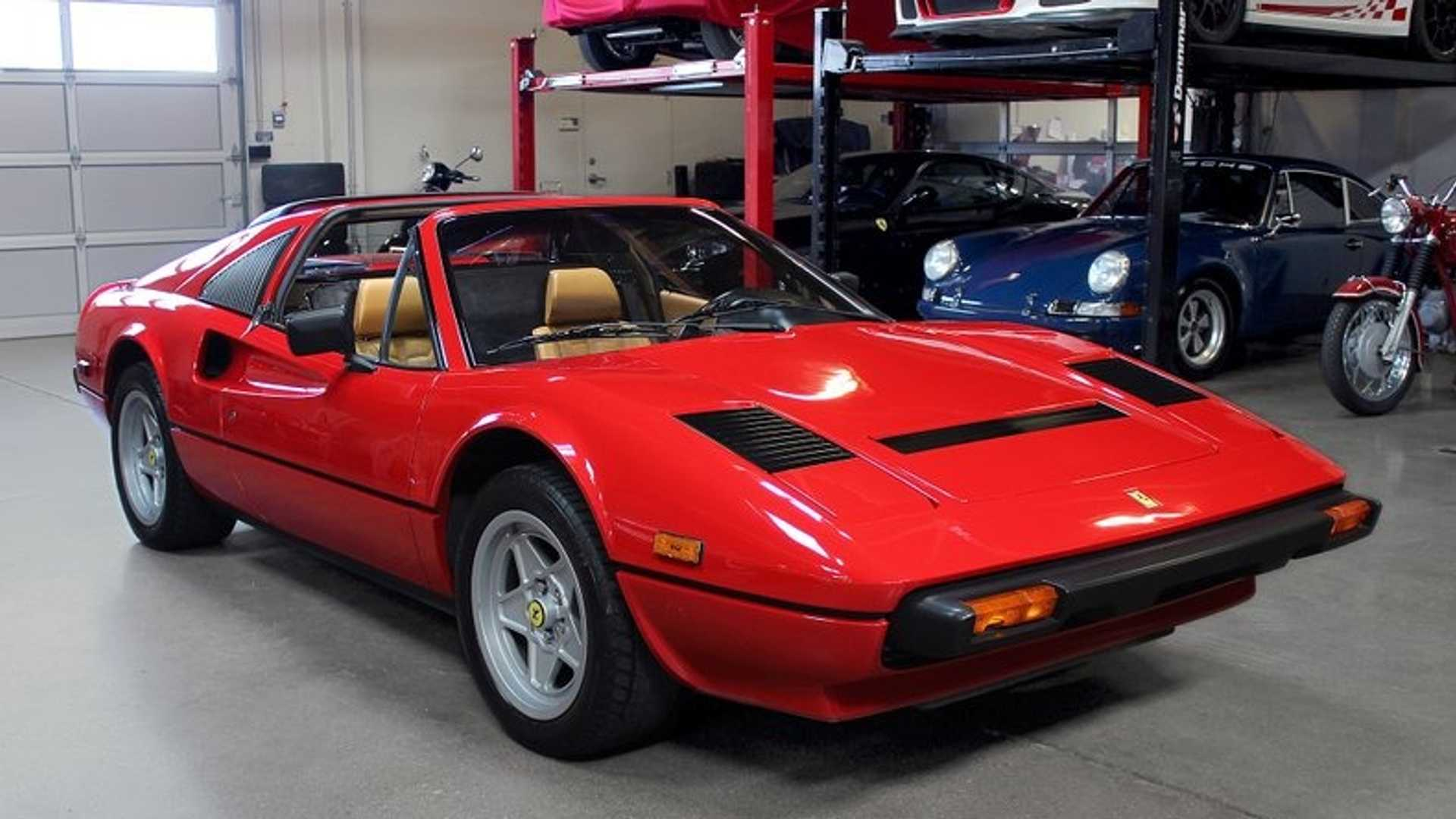 Channel Your Inner Magnum P I In This 1985 Ferrari 308 Gts