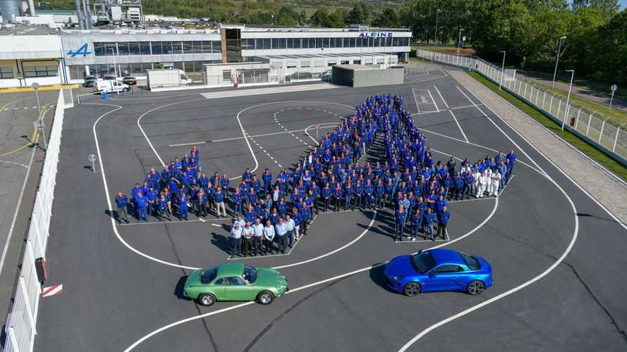 L'Alpine A110 dépasse la production de l'ancienne berlinette