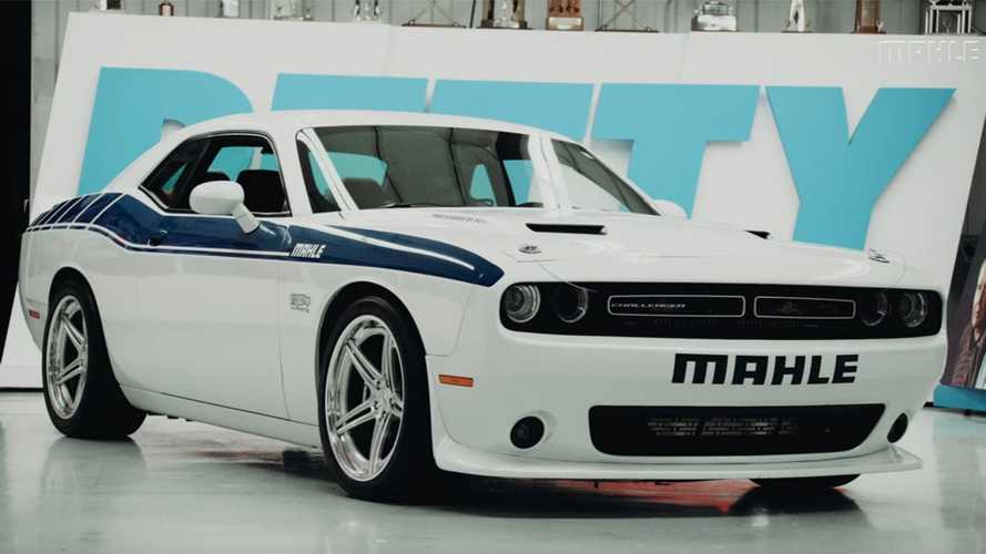 Check Out The 1,100-Horsepower MAHLE Dodge Challenger