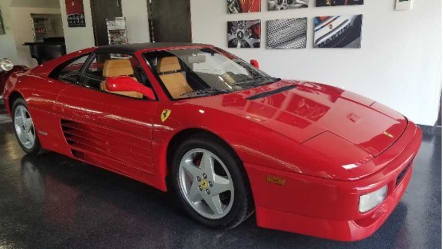 Get Radwood Ready With A 1990 Ferrari 348 TS