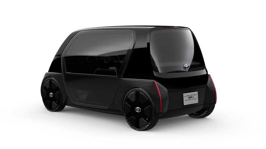 Toyota Ultra-compact BEV business concept