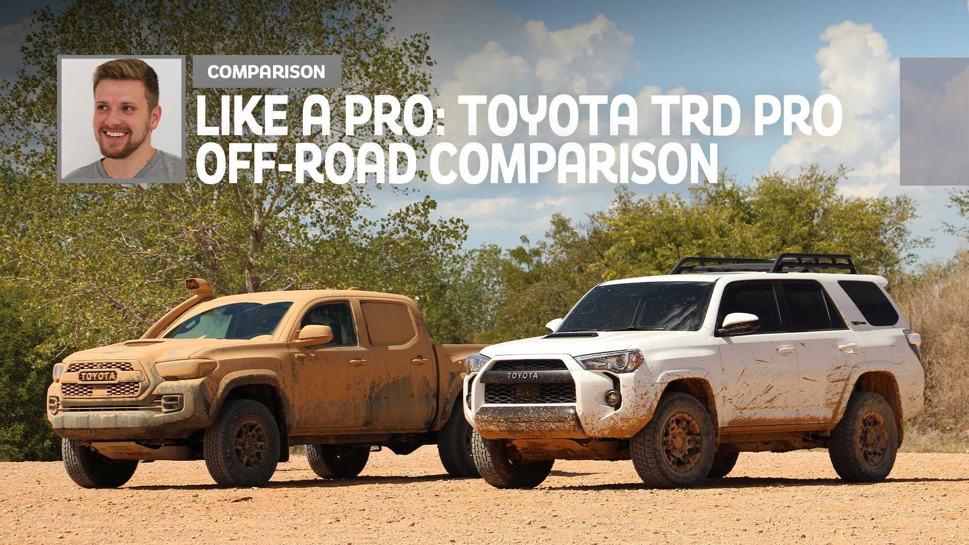 Like A Pro: Ranking The 2020 Toyota TRD Pro Models Off-Road