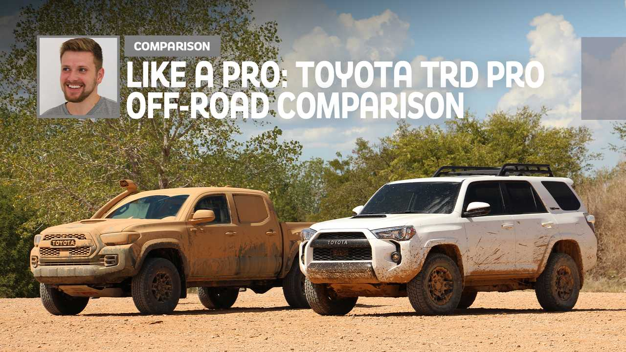 2020 Toyota TRD Pro: Comparison