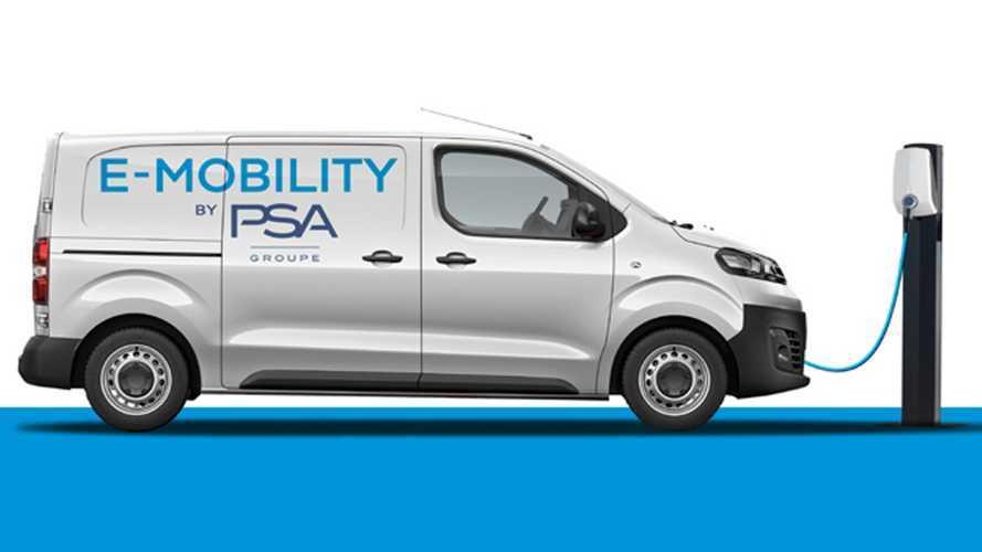 PSA, nel 2020 arrivano i primi furgoni medi elettrici