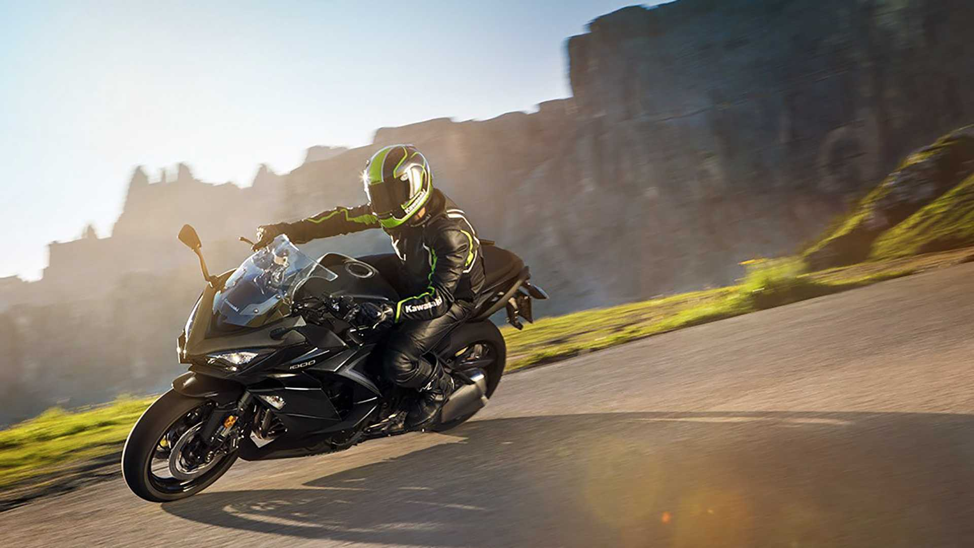 2019 Kawasaki Ninja 1000 Updated Kawasaki Ninja 1000 Shows