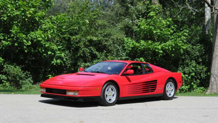 Take Down The Poster And Buy This 1990 Ferrari Testarossa