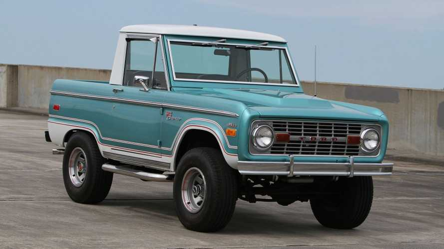 Stand Out In This Uncut, Half-Cab 1970 Ford Bronco