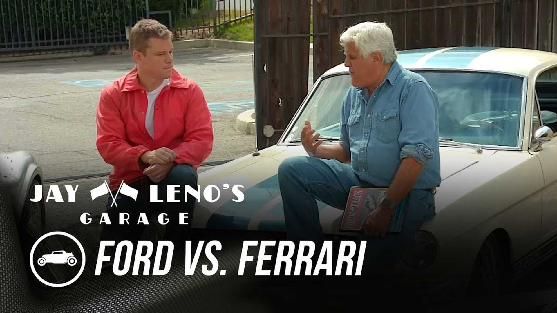 Matt Damon talks about 'Ford V Ferrari' with Jay Leno
