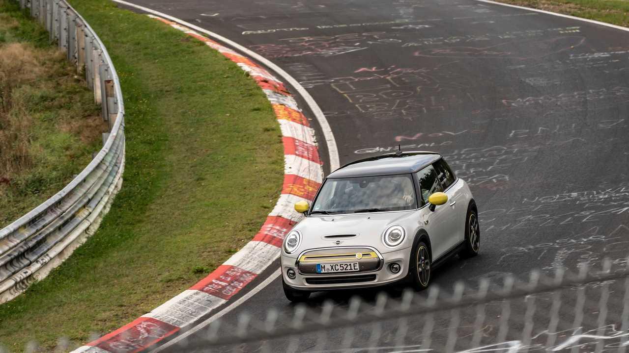 MINI Electric at the Nürburgring