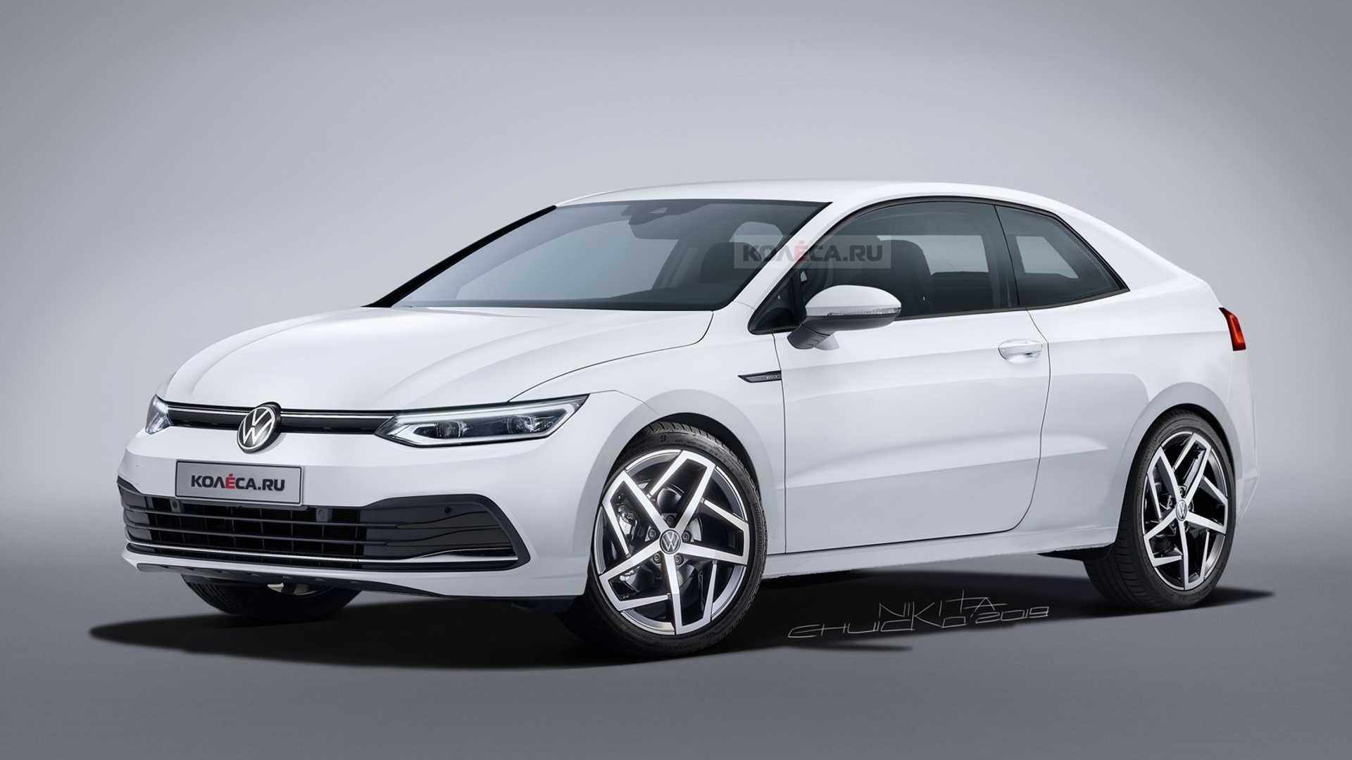 New VW Corrado based on Golf 8 is a pipe dream