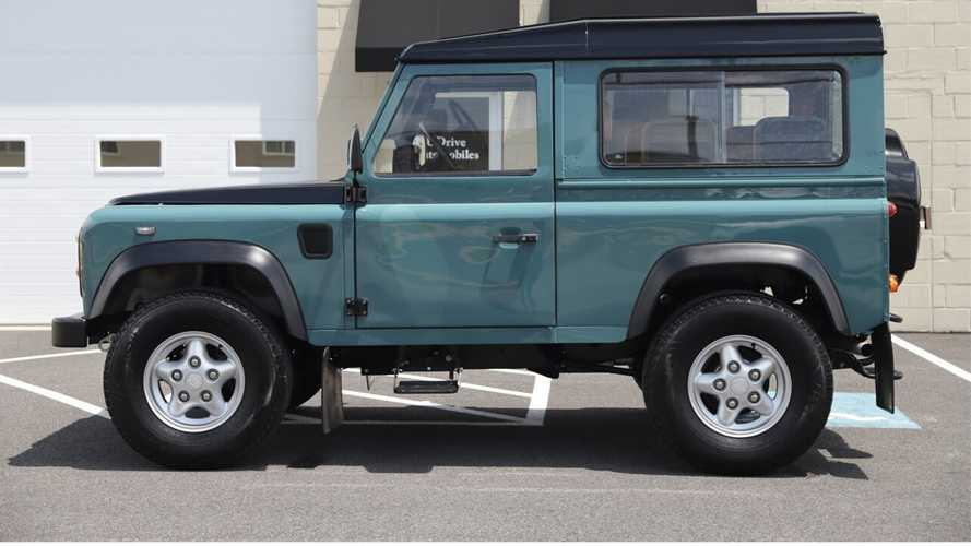 Seek Adventure In A 1986 Land Rover Defender 90