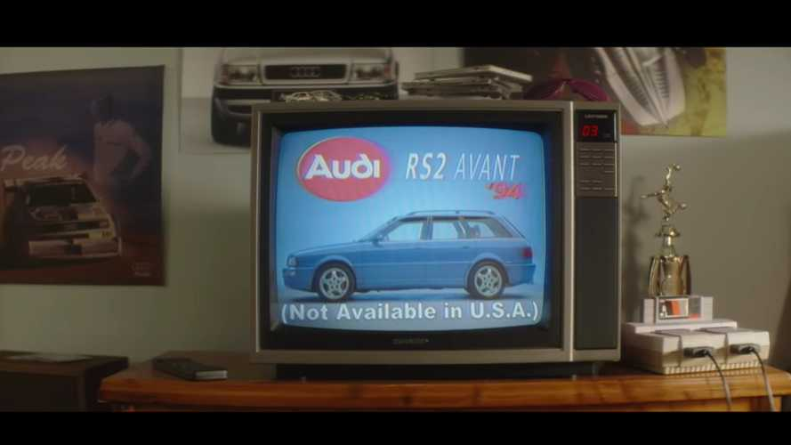 Never-aired Audi RS2 Avant ad released 25 years later