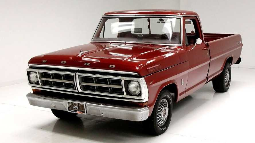 Nothing Is Better Than A Well-Loved 1971 Ford F100 Pickup