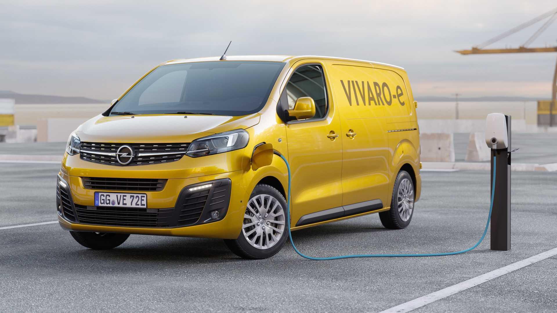 2020 Opel Vivaro Exterior