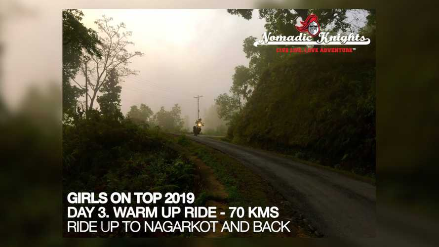 Girls On Top Kathmandu to Everest Ride 2019