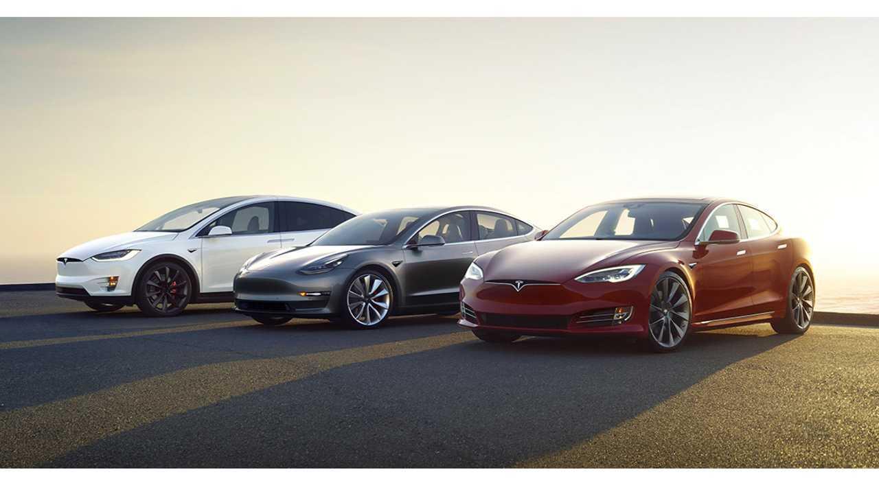 Tesla Model X, Tesla Model 3 and Tesla Model S