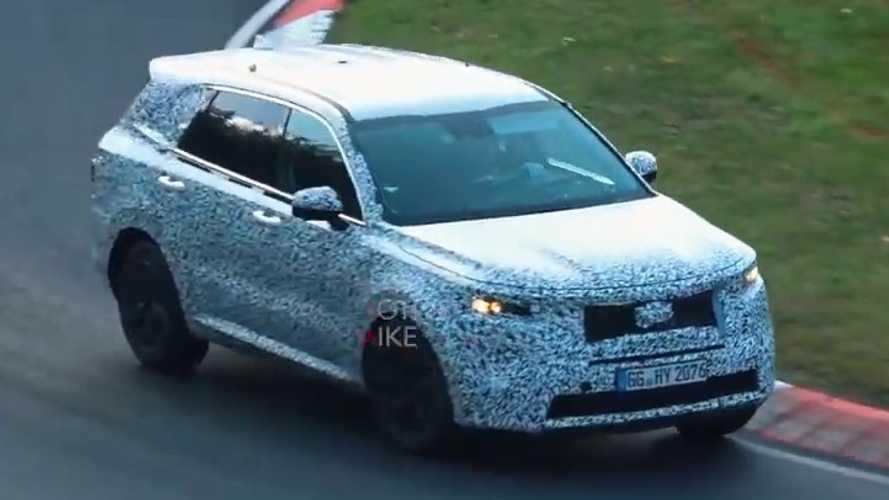 2020 Kia Sorento, Nürburgring'de testlerine devam ediyor