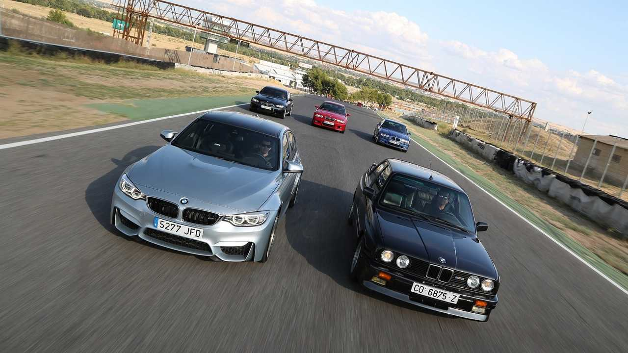 E30, E36, E46, E90, F80 BMW M3