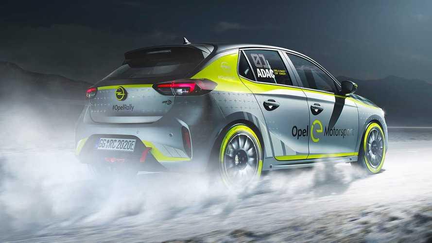 Opel Corsa e-Rally, pronto al via il monomarca elettrico