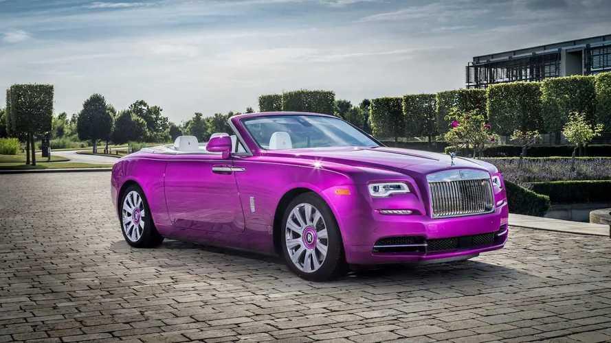 Коллекция эксклюзивных Rolls-Royce Майкла Фукса
