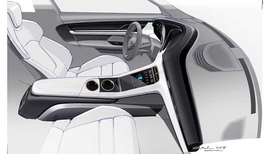 Porsche Taycan 2020, fotos de interior