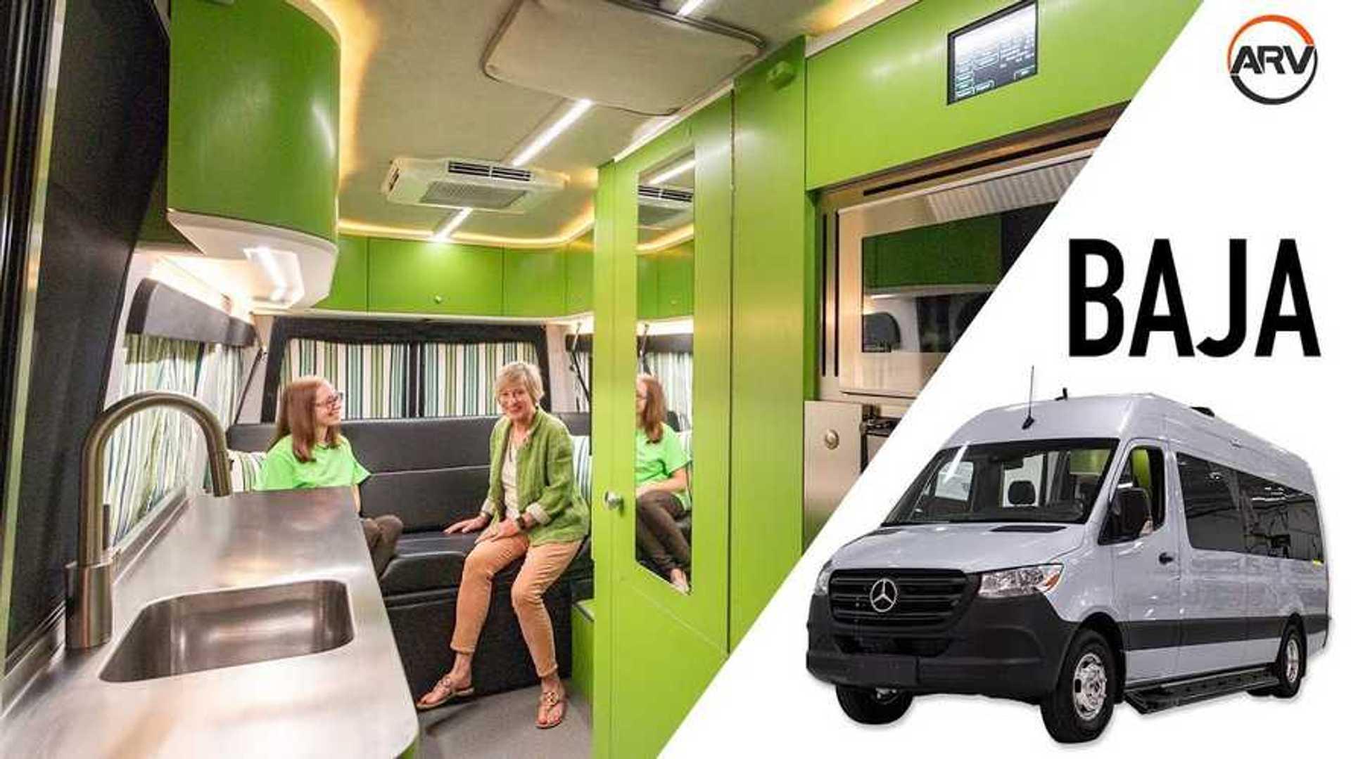 Advanced RV Baja Is The Greenest Camper Van We've Ever Seen
