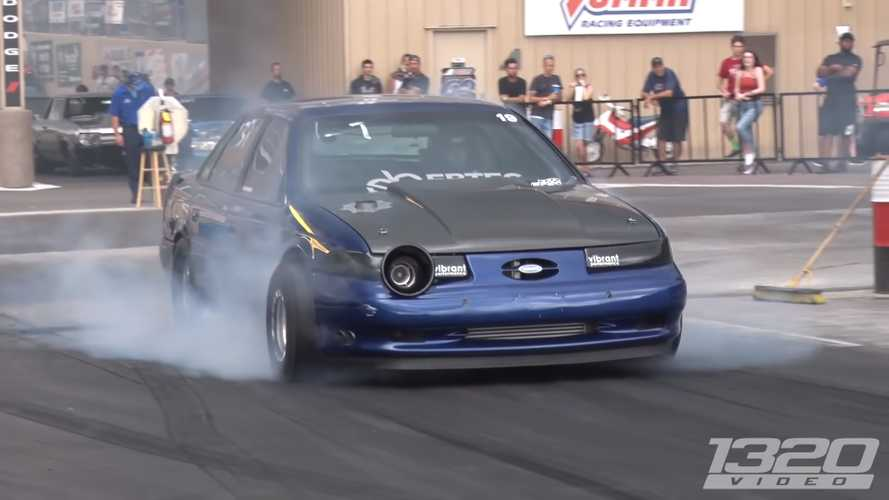 This Old Ford Taurus SHO Is An Epic 9-Second Quarter-Mile Monster